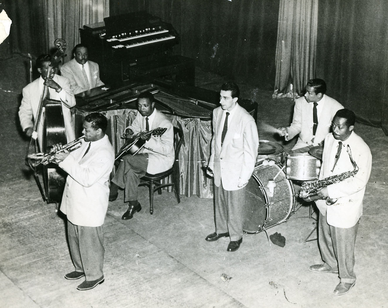 Terry with basie band
