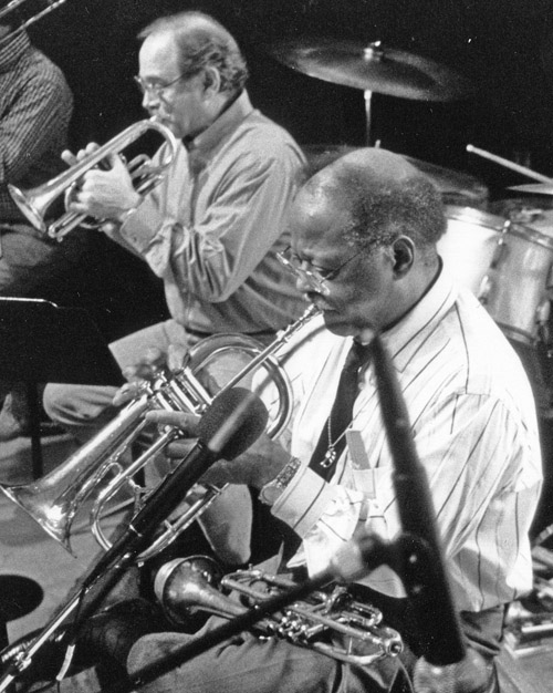 JC and Clark Terry