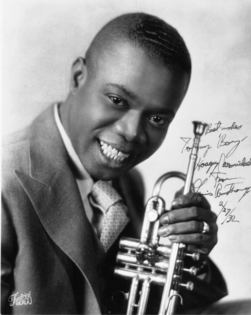Louis Armstrong, 1932. Photo in public domain. - Louis-Armstrong1932_publicdomain