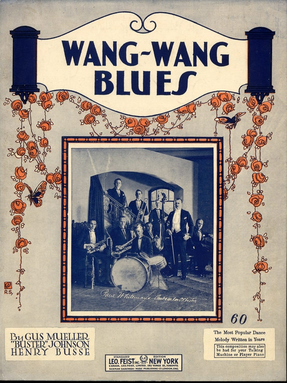 Wang Wang Blues sheet music