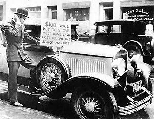 Distressed car sale cir 1929. Photo courtesy flickr.com In 1929, jazz was making its way into mainstream America, moving from Chicago to New York, blo...