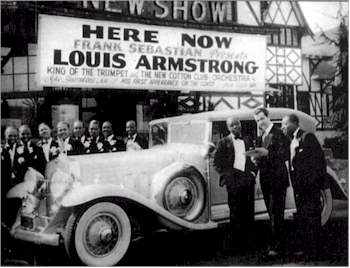 Louis Armstrong Sebastian New Cotton Club