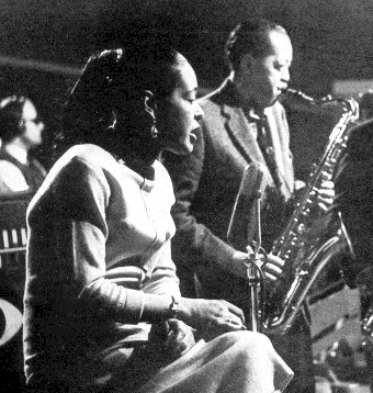 Billie Holiday and Lester Young