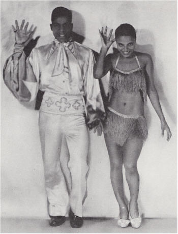 "Earl ""Snakehips"" Tucker and Bessie Dudley"