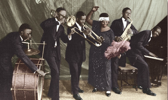 Ma Rainey Band 1923