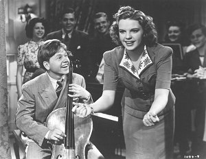 Mickey Rooney and Judy Garland