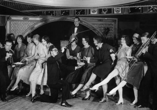 Dancers in the 1920s