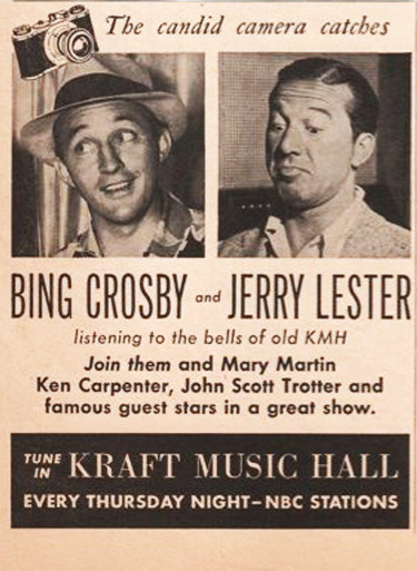 Image result for kraft music hall radio show